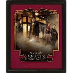 FANTASTIC BEASTS AND WHERE TO FIND THEM - POSTER 3D LENTICULAR
