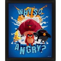 ANGRY BIRDS - POSTER 3D LENTICULAR