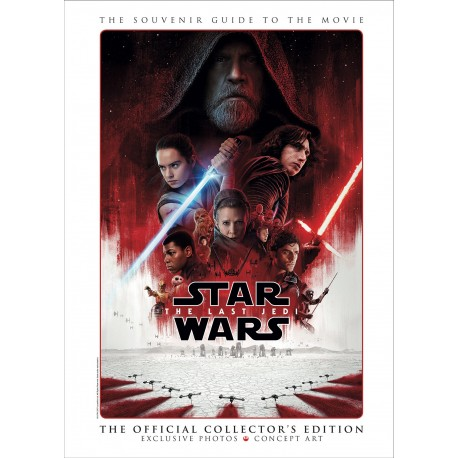 STAR WARS THE LAST JEDI - THE GUIDE TO THE MOVIE