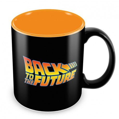 BACK TO THE FUTURE LOGO - TAZZA