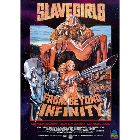 SLAVE GIRLS FROM BEYOND INFINITY - DVD