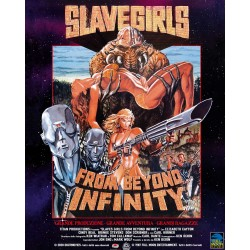SLAVE GIRLS FROM BEYOND INFINITY - BLU-RAY