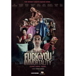 FUCK YOU IMMORTALITY - DVD